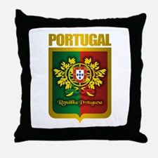 """Portuguese Gold"" Throw Pillow"