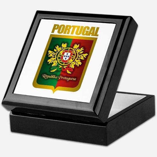 """Portuguese Gold"" Keepsake Box"