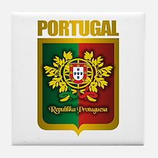 """Portuguese Gold"" Tile Coaster"