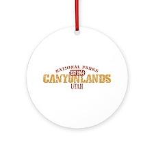 Canyonlands National Park UT Ornament (Round)