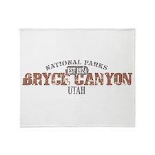 Bryce Canyon National Park UT Throw Blanket