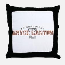 Bryce Canyon National Park UT Throw Pillow