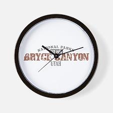 Bryce Canyon National Park UT Wall Clock