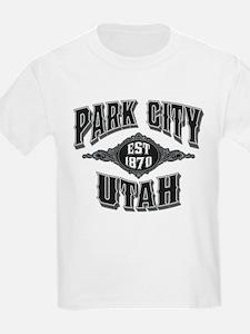 Park City Black Silver T-Shirt