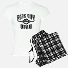Park City Black Silver Pajamas