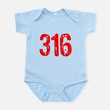 316 Infant Bodysuit