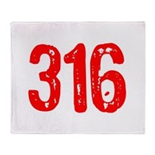 316 Throw Blanket