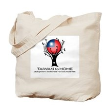 Taiwan to Home Tote Bag