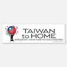 Taiwan to Home Sticker (Bumper)