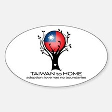 Taiwan to Home Decal