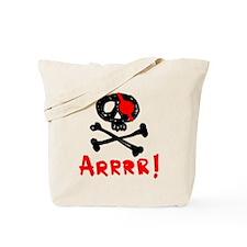 Arrrr! Funny Pirate Tote Bag