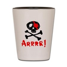 Arrrr! Funny Pirate Shot Glass
