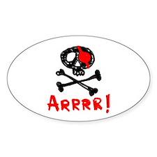 Arrrr! Funny Pirate Decal