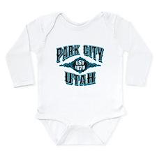 Park City Black Ice Long Sleeve Infant Bodysuit
