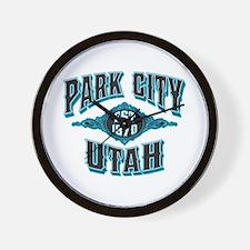 Park City Black Ice Wall Clock