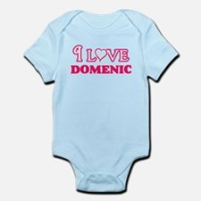 I Love Domenic Body Suit
