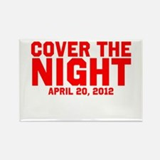 Cover the night Kony 2012 Rectangle Magnet