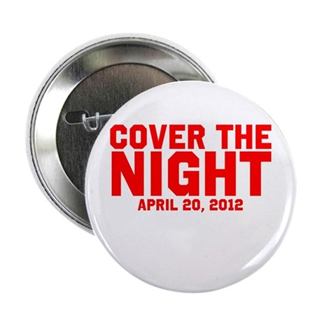 "Cover the night Kony 2012 2.25"" Button (100 pack)"