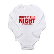 Cover the night Kony 2012 Long Sleeve Infant Bodys