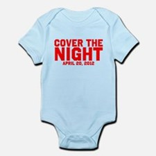 Cover the night Kony 2012 Infant Bodysuit
