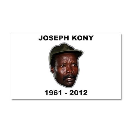 Kony 2012 Obituary Car Magnet 20 x 12