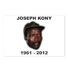 Kony 2012 Obituary Postcards (Package of 8)