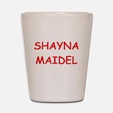 yiddish Shot Glass