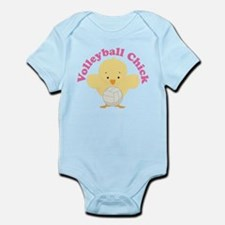 Volleyball Chick Gift Infant Bodysuit