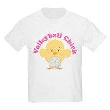Volleyball Chick Gift T-Shirt