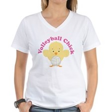 Volleyball Chick Gift Shirt