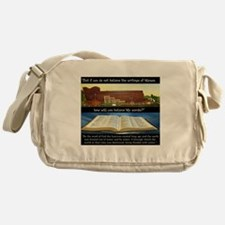 How, if you don't believe? Messenger Bag
