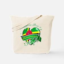 I heart Dominican Designs Tote Bag