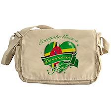 I heart Dominican Designs Messenger Bag