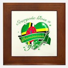 I heart Dominican Designs Framed Tile