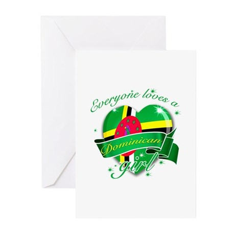 I heart Dominican Designs Greeting Cards (Pk of 10