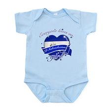 I heart El Salvadorian Designs Infant Bodysuit