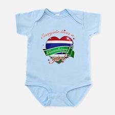 I heart Gambian Designs Infant Bodysuit