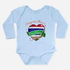 I heart Gambian Designs Long Sleeve Infant Bodysui