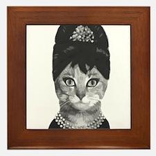 DIVA CAT Framed Tile