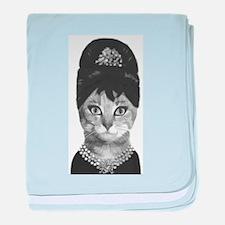 DIVA CAT baby blanket