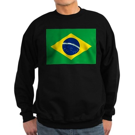 Brazil Flag Sweatshirt (dark)