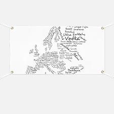 European Food Map Banner