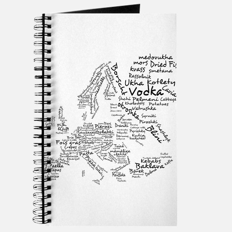 European Food Map Journal