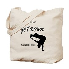 My son get down male dancer Tote Bag