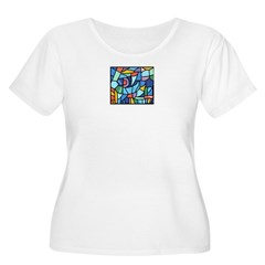 Stained Glass Pattern T-Shirt