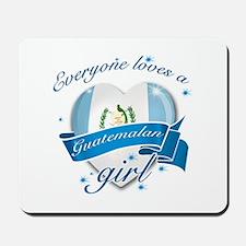 I heart Guatemalan Designs Mousepad