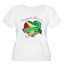 I heart Guyanese Designs T-Shirt