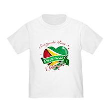 I heart Guyanese Designs T