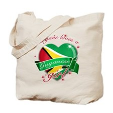 I heart Guyanese Designs Tote Bag