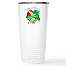 I heart Guyanese Designs Travel Mug